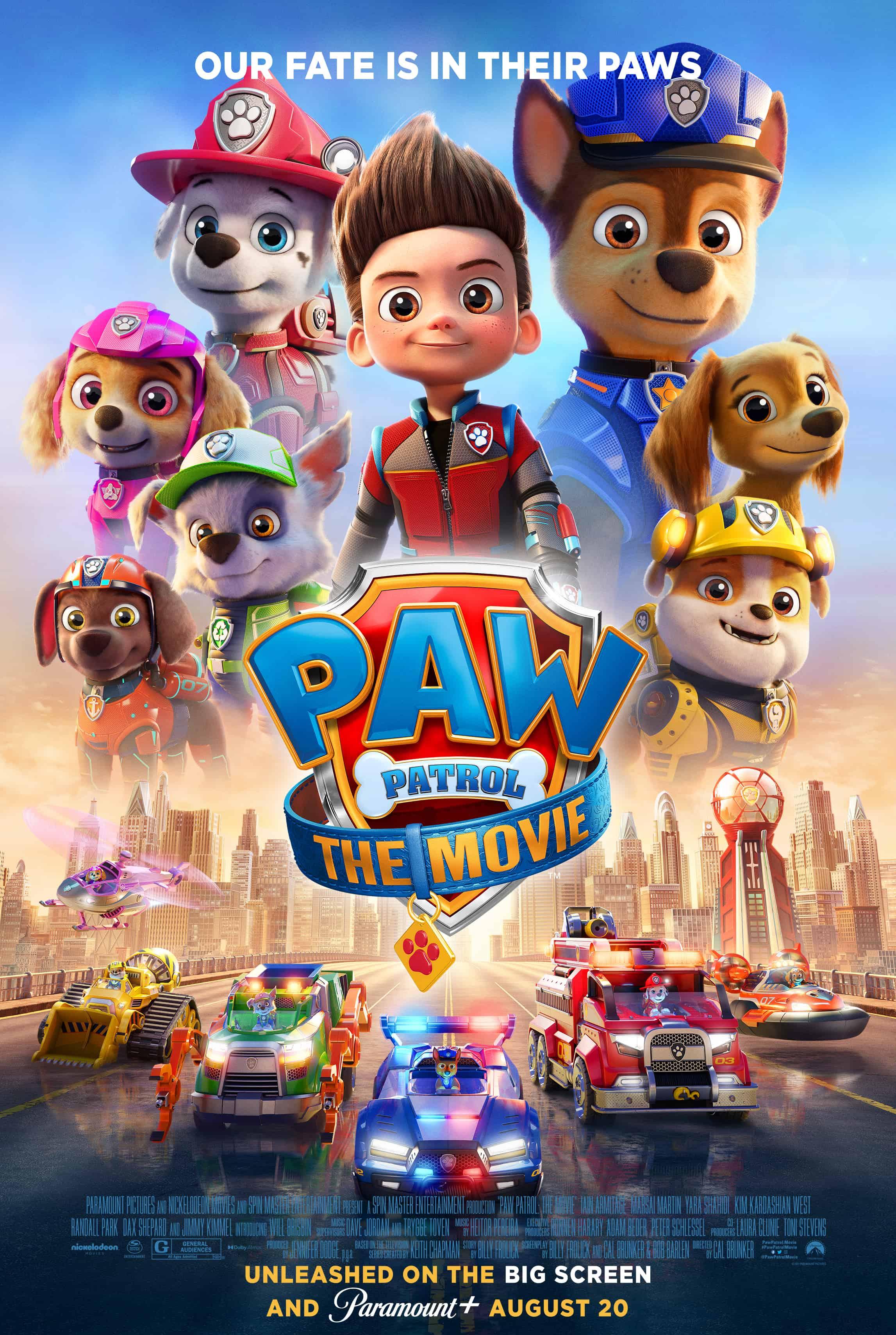 Paw Patrol Movie Review