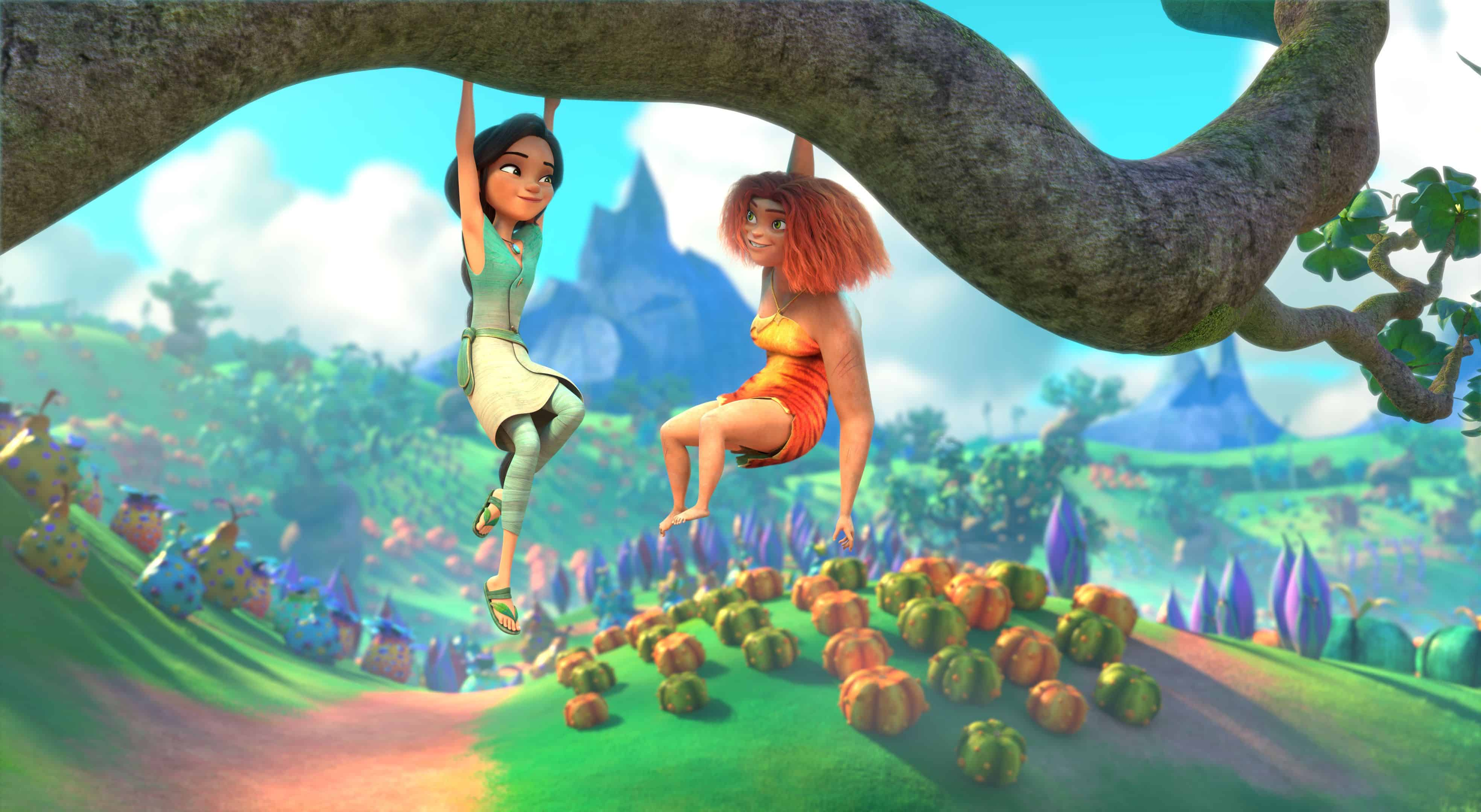 The Croods Family Tree is Coming to Hulu and Peacock