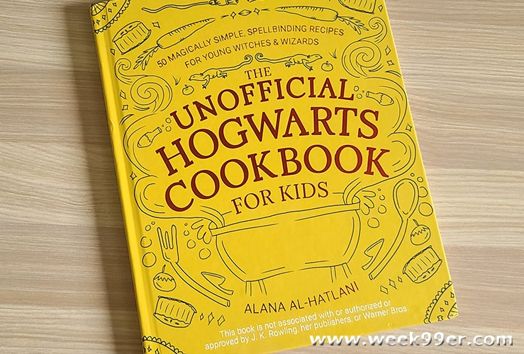 Unofficial Harry Potter Cookbook for Kids Review