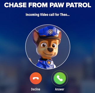 How to Get a Call from Your Kid's Favorite Paw Patrol Character!