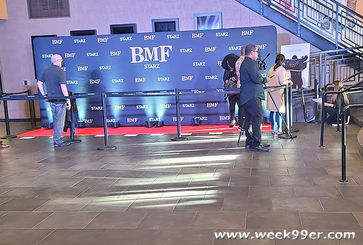 BMF Starz Review and Red Carpet